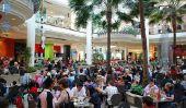 Interruption de importun Déjeuner: Le Food Court Salle de bains