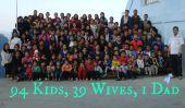 Plus grande famille du monde a 94 enfants et de comptage