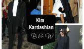 Quoi de neuf avec Kim Kardashian porter du noir et blanc à 90% du temps?