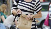 Brooke Shields Prend Ses filles au parc