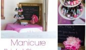 Essayez cette douche Idea station Manucure nuptiale adorable bricolage