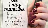 La manucure 7 jours: une puce-Free At-Home Manucure