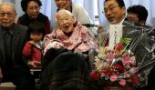 Dire adieu au 117-year-old Misao Okawa, personne la plus âgée du monde