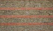 Revêtement mural en pierre Selbermachen - Instructions pour le bricolage