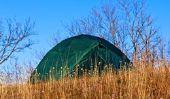 Toit de la tente - donc vous plier la condensation avant