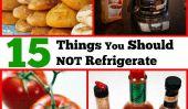 15 choses à ne pas autorisés dans le réfrigérateur