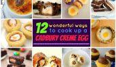 12 façons de cuisiner avec un oeuf fondant Cadbury