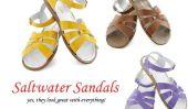 Sandales eau salée!  Oui, ils vont avec tout!