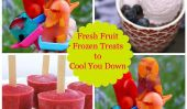 7 desserts glacés que vous pouvez faire avec des fruits frais