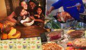 Thanksgiving avec les Stars: Miranda Kerr, Jessica Alba, Obama ...