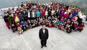 La plus grande famille dans le Monde