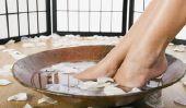 Pédicure facile - les soins des pieds pour faire votre propre
