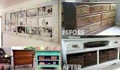 15 idées ingénieuses de réutiliser Vieux meubles