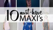 10 Robes longues que je l'aime pour le printemps
