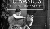 10 Notions de base de l'automne pour le style facile Audrey Hepburn