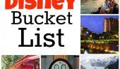 Mon Disney Bucket List!