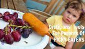 Outil d'un diététiste pour les parents d'enfants capricieux