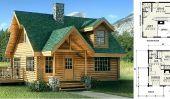 Fontana Log Home: The Perfect Little Cottage Pour cet endroit isolé dans les bois ou sur le lac