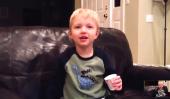 Ce gamin est dans la phase Potty Mouth - et il adore ça