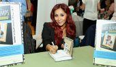 MTV 'Snooki et Jwoww' Star Nicole Polizzi actions Baby Girl Pic Avec Magazine, jaillit sur Twitter