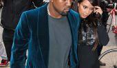 Une enceinte Kim Kardashian et Kanye West sortent pour dîner: Voilà ce qui arrive (Photos)