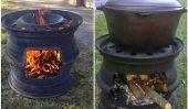 DIY voiture Rim BBQ (vidéo)