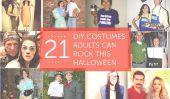 21 Costumes bricolage adultes peuvent rock Ce Halloween