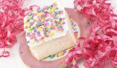Nous cuisson gâteau de confettis de la Journée nationale Dessert, aussi juste parce que