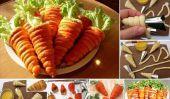 """Salade délicieuse pâtisserie Pâte """"carotte"""""""