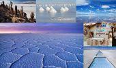 Salar de Uyuni en Bolivie: la plus grande Salt Flat monde