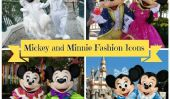 Disney Fashion Icons: Mickey et Cutest Looks assortis de Minnie