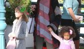 Heidi Klum garde coloré avec ses filles à Los Angeles (Photos)