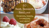 50 meilleures recettes de desserts