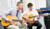 Accompagner anglais de Noël à la guitare - chant tellement de succès ensemble