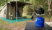 Créez la liste de colisage pour le camping
