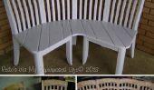 Comment faire un banc de coin avec l'aide 4 vieilles chaises