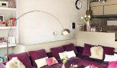 Appartement Tour: Vintage Industrial Barcelone Loft