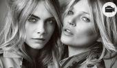 """Cara Delevingne et Kate Moss ensemble pour """"My Burberry"""""""