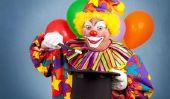 des conseils de maquillage pour les clowns - afin mascarade succès