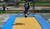 Jeux sur le trampoline - avec ces idées que vous avez du plaisir sportif