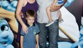 Melissa Joan Hart et ses garçons ont Smurfing Good Time (Photos)