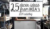 25 astuces de décoration cool de IKEA '14 catalogue