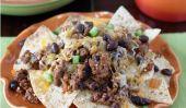 Black Bean et Nachos de boeuf