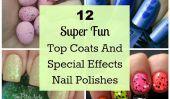 12 superbes d'amusement Haut manteaux et les effets spéciaux Vernis