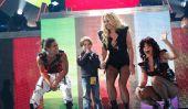 Britney Spears messages Nouveaux photos de sa tournée européenne sur Twitter (Photos)