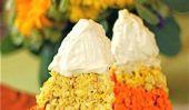 Super Grand riz Krispie bonbons au maïs