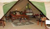Rester à la tente de l'Armée - de sorte que vous vivez pas cher et confortable