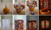 Idée bricolage: Lego lampe