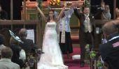 Participe officiant en Flash Mob lors de la cérémonie de mariage (VIDEO)
