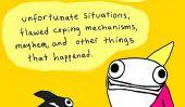 L'article du jour: «hyperbole et une moitié - des situations malheureuses, imparfaits mécanismes d'adaptation, Mayhem et autres choses qui sont arrivées»